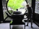 Вход в чайный павильон.