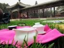 Наше чаепитие в парке.