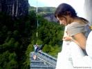 Вид с пагоды монастыря Тянь Синь Юнь Лэ - Небесного сердца и вечной радости.