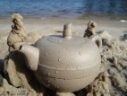 Чайник «Замок на песке»