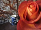 Чайная пара «Синий орнамент» (фото 1)