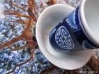 Чайная пара «Синий орнамент» (фото 2)