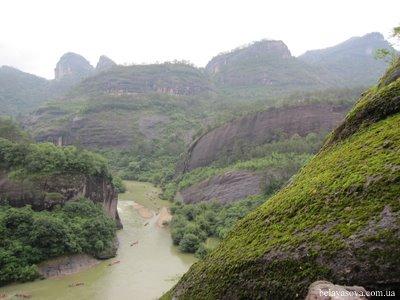 река Девяти Излучин, Уишань