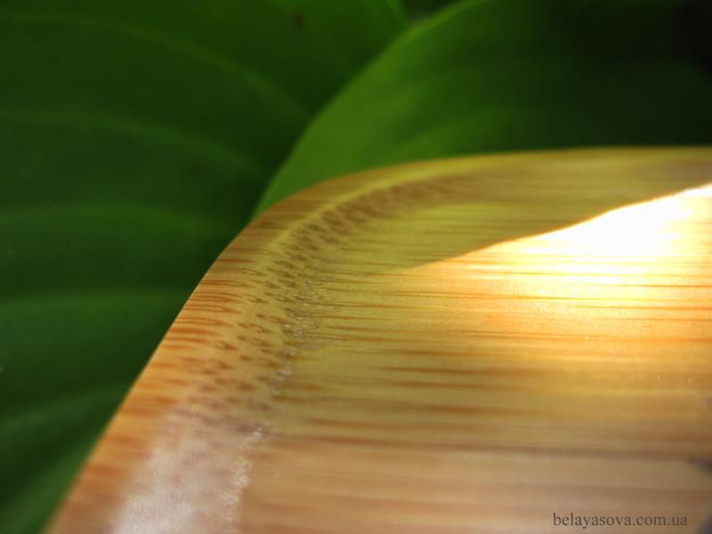 Бамбуковая подставка под чайную пару (фото 6)