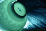 Голубая чашка с орнаментом (фото 4)