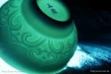 Голубая чашка с орнаментом (фото 5)