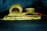 Светлые инструменты из корня бамбука (фото 9)