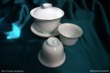 Белоснежная тонкая чашка (фото 7)