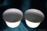 Белоснежная тонкая чашка (фото 5)
