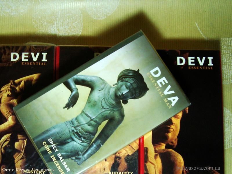Благовония-конусы DEVA (фото 1)