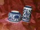 Чайная пара с цветами и карпами (фото 4)