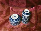 Чайная пара с цветами и карпами (фото 5)
