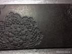 Черная керамическая подставка для чашек (фото 3)